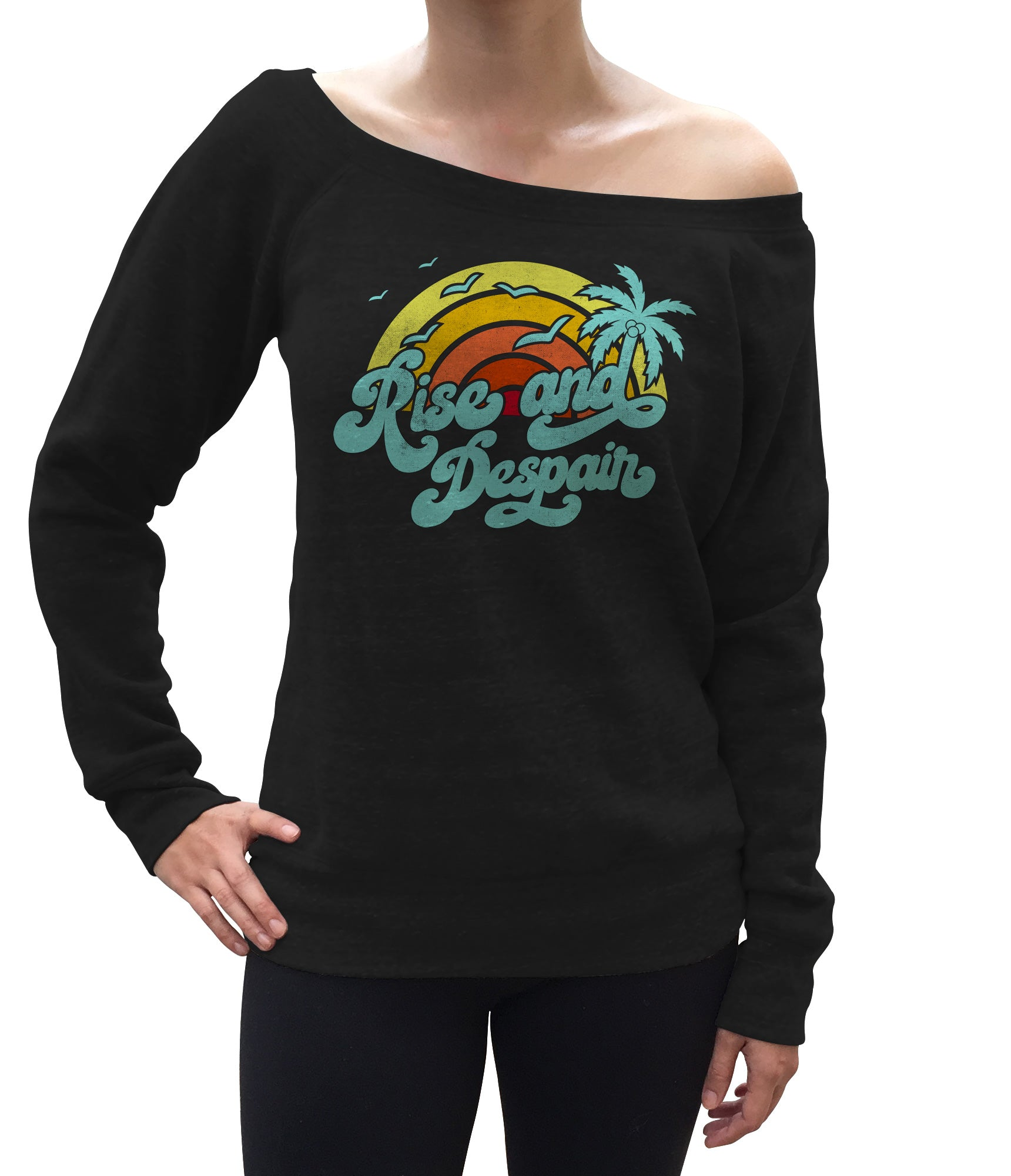 Women's Rise and Despair Scoop Neck Fleece