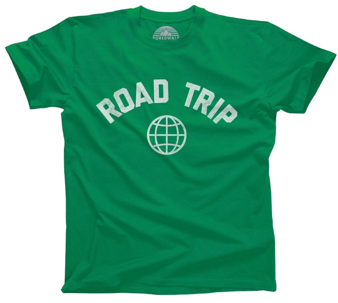 Men's Road Trip T-Shirt Retro Athletic Travel