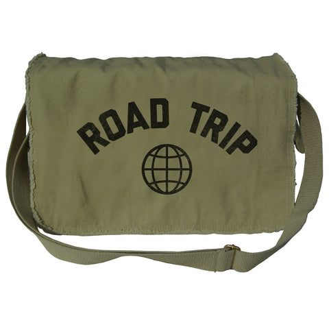 Road Trip Messenger Bag