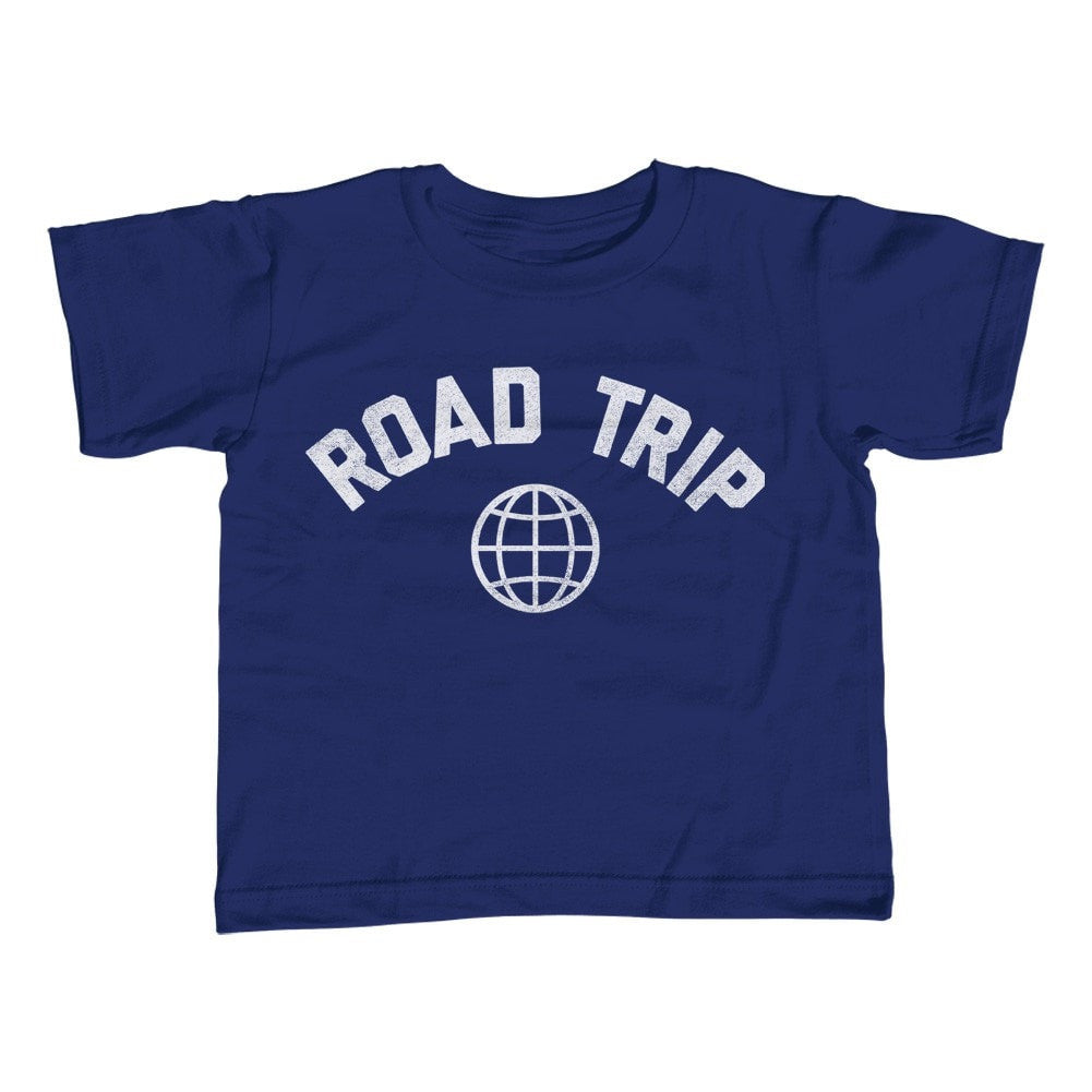 Boy's Road Trip T-Shirt Retro Athletic Travel