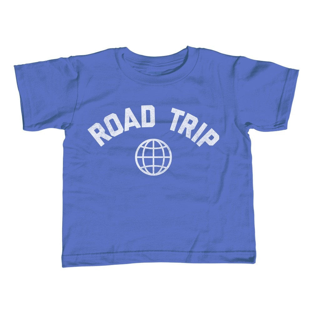 Girl's Road Trip T-Shirt - Unisex Fit Retro Athletic Travel