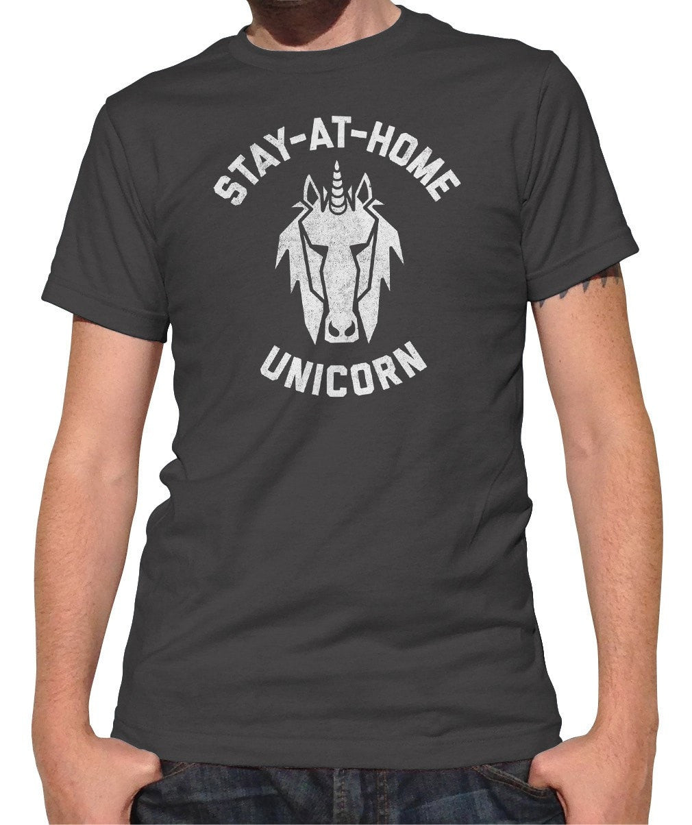 Men's Stay at Home Unicorn T-Shirt