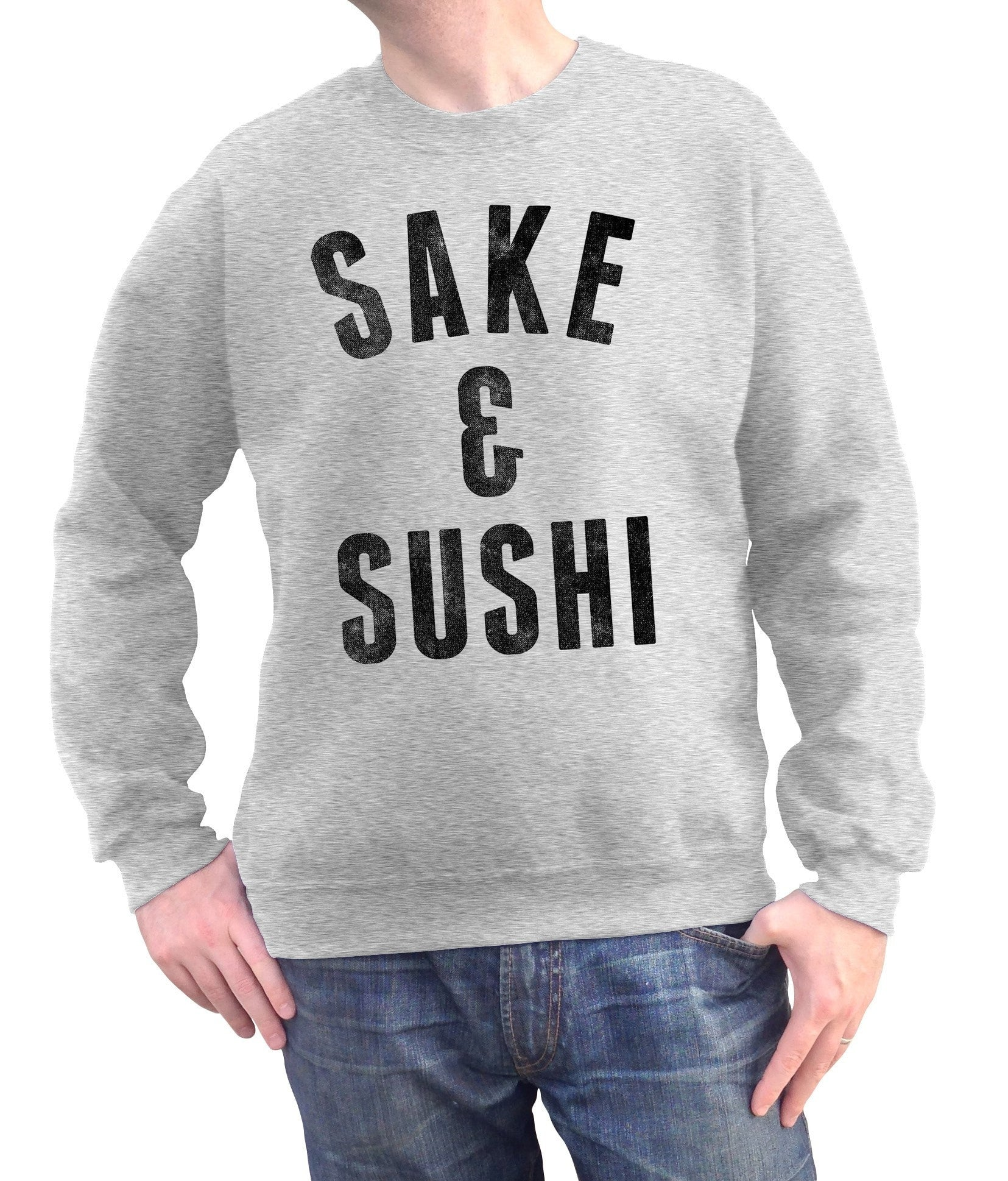 Unisex Sake and Sushi Sweatshirt