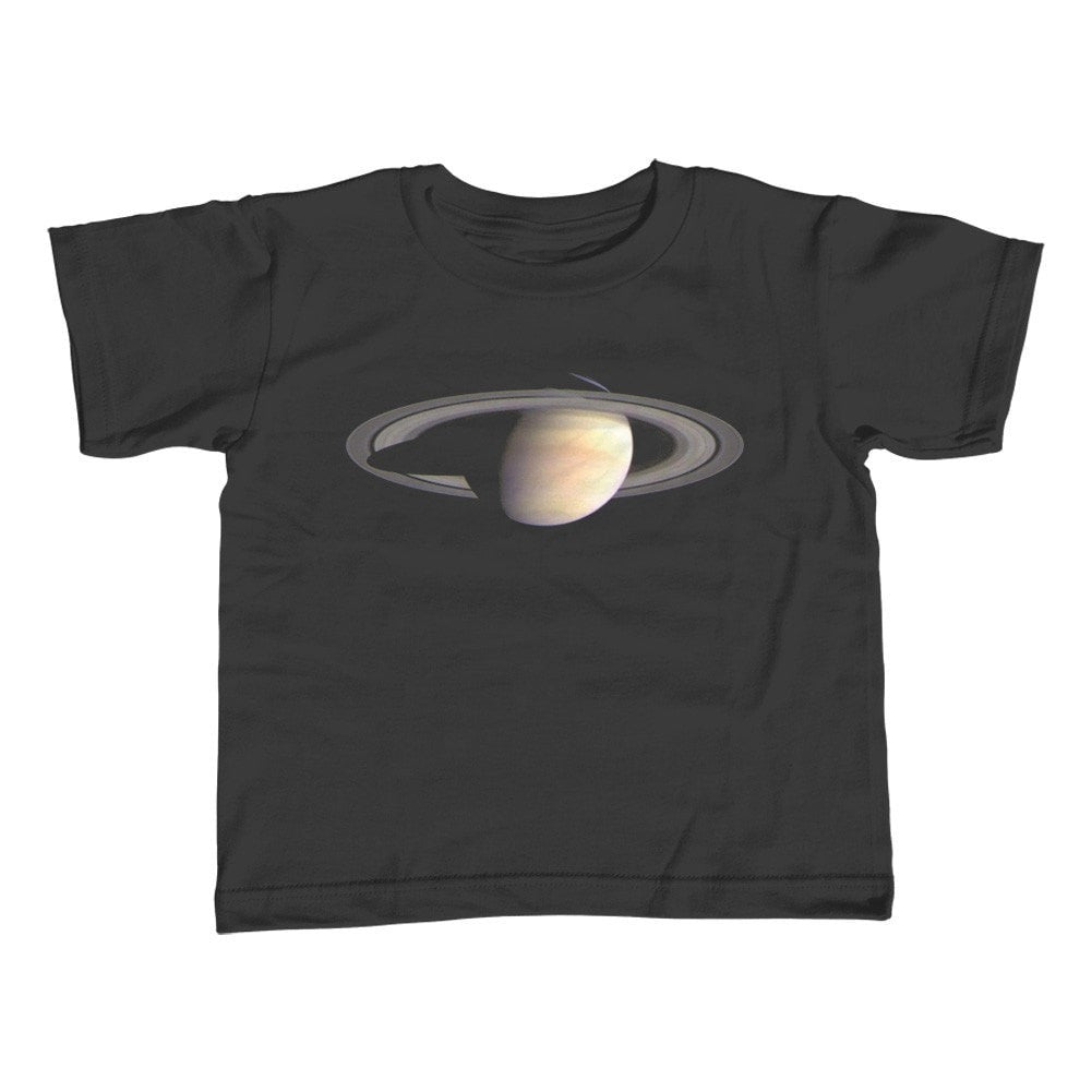 Girl's Saturn T-Shirt - Unisex Fit Astronomy