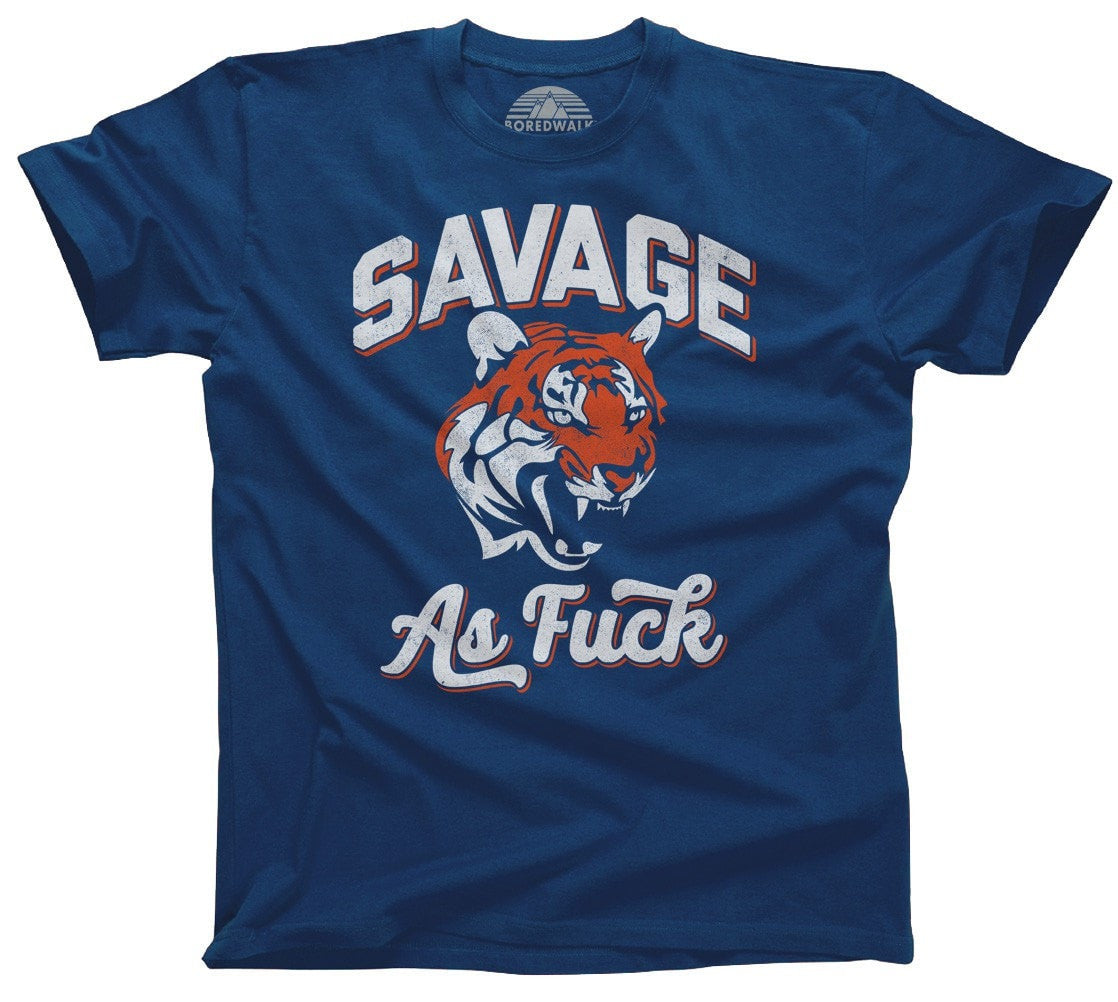 Men's Savage as Fuck Tiger T-Shirt