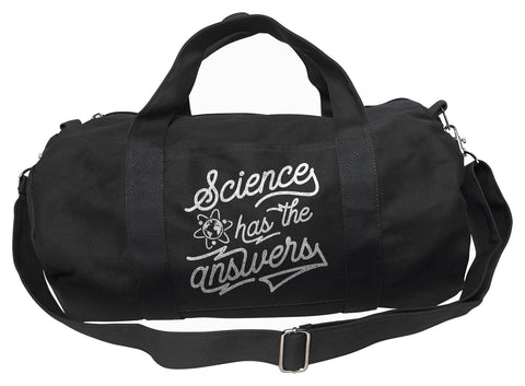 Science Has the Answers Duffel Bag