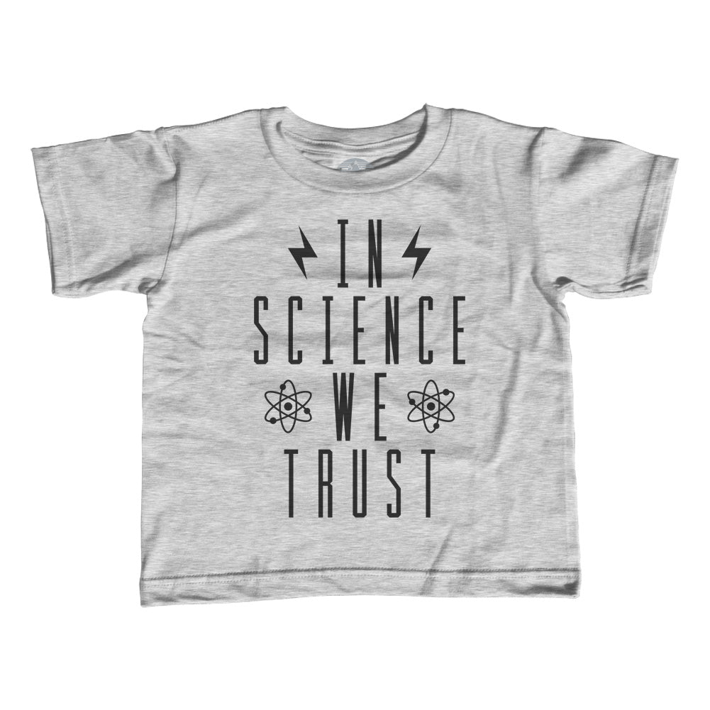 Boy's In Science We Trust T-Shirt