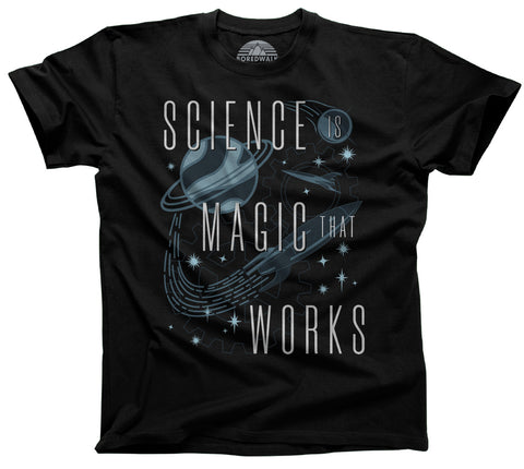 Men's Science is Magic That Works T-Shirt