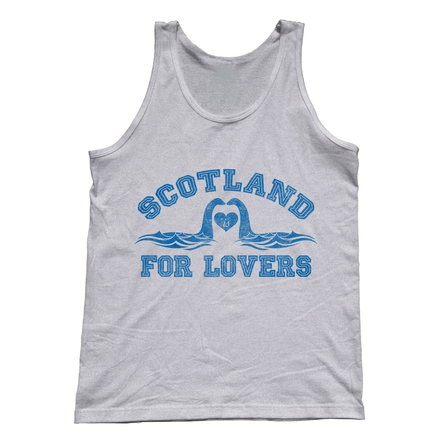 Unisex Scotland is for Lovers Tank Top Loch Ness Monster Tank