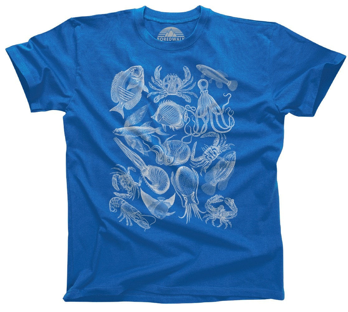 Men's Sea Life Nautical T-Shirt