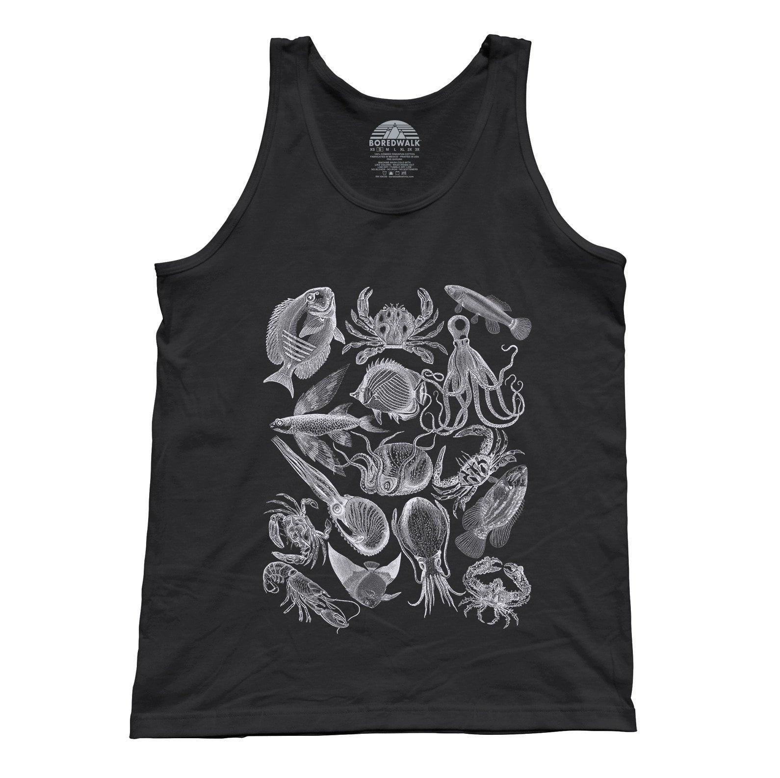 Unisex Sea Life Nautical Tank Top
