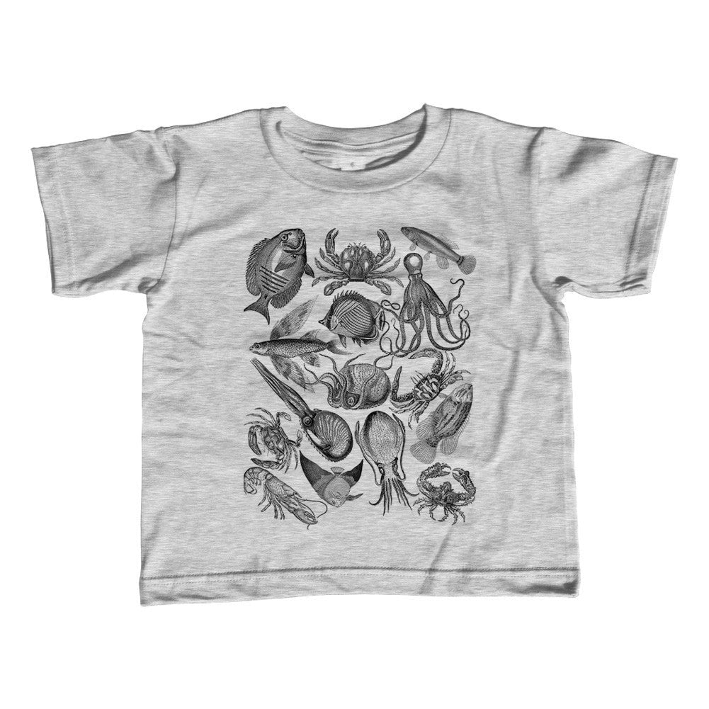 Boy's Sea Life Nautical T-Shirt