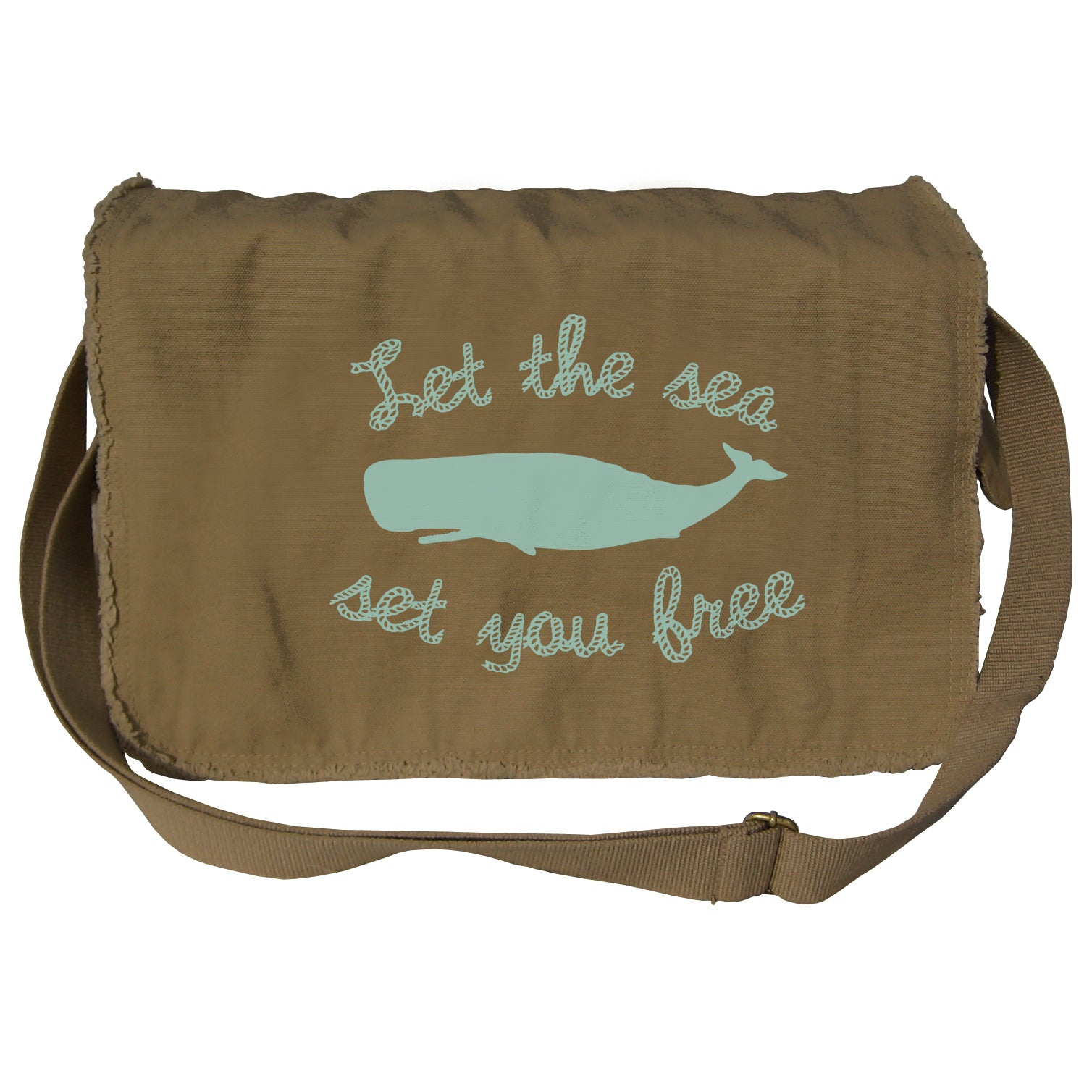 Let The Sea Set You Free Messenger Bag