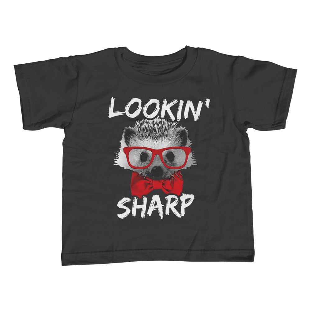 Girl's Looking Sharp Hedgehog T-Shirt - Unisex Fit