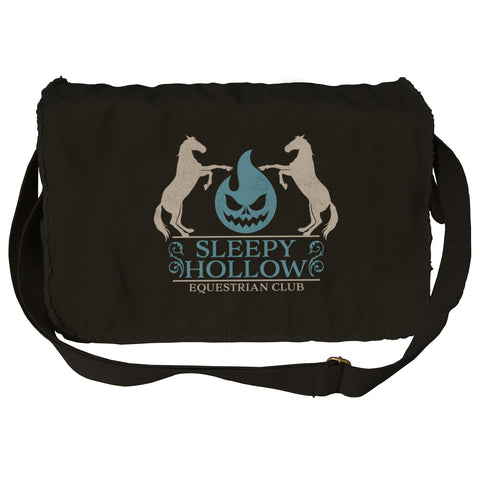 Boredwalk Sleepy Hollow Equestrian Club Messenger Bag