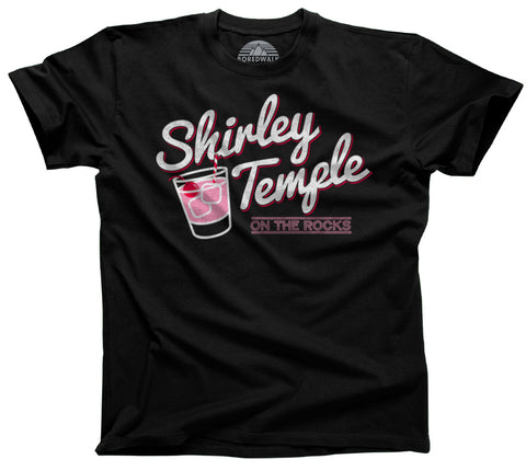 Men's Shirley Temple On The Rocks T-Shirt