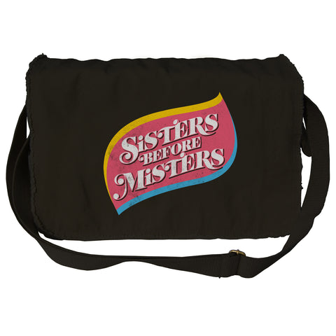 Sisters Before Misters Messenger Bag