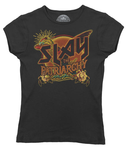 Women's Slay the Patriarchy T-Shirt - Feminist Shirt