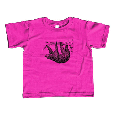 Girl's Sloth T-Shirt - Unisex Fit