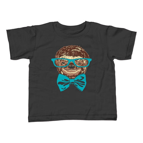 Girl's Nerdy Sloth T-Shirt - Unisex Fit