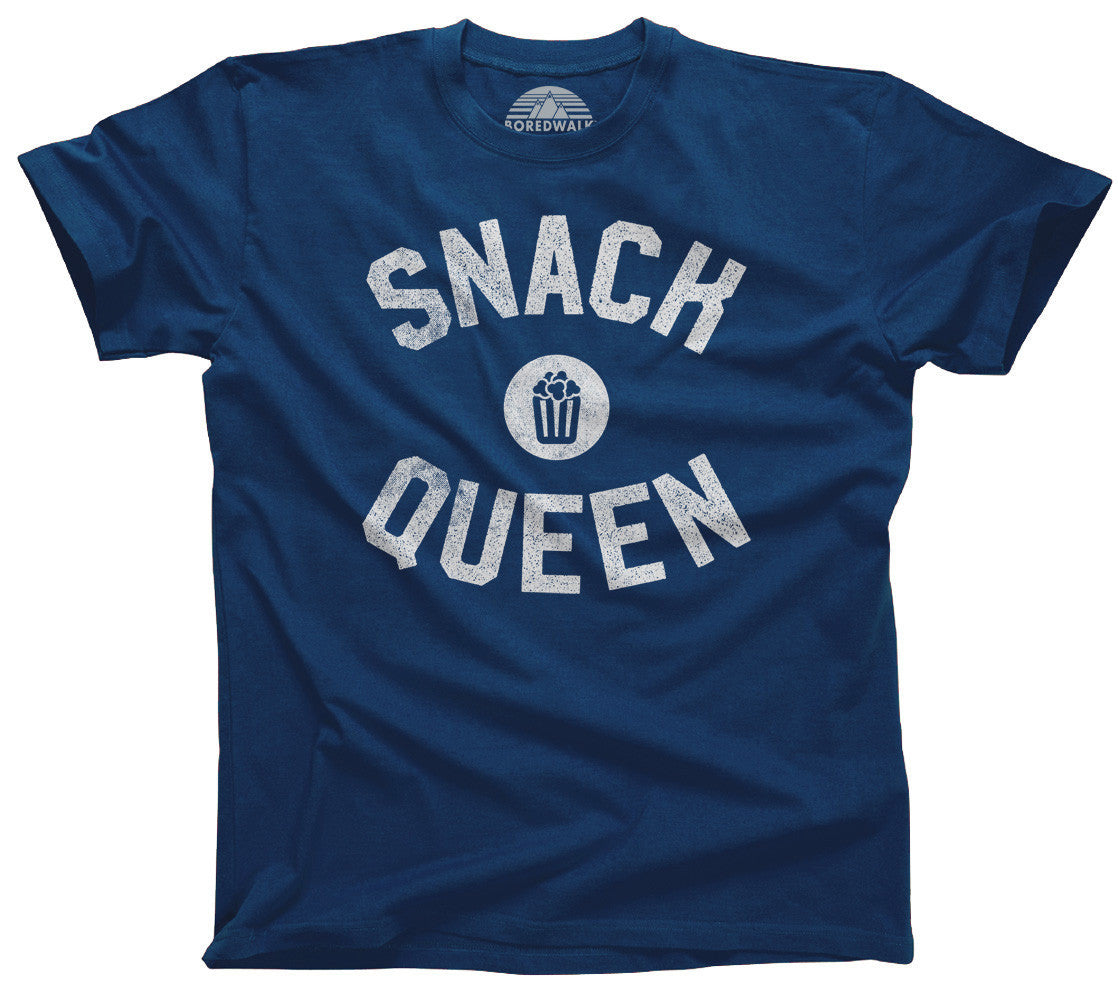 Snack Queen T-Shirt Hungry Foodie Snacks - Relaxed Unisex Fit