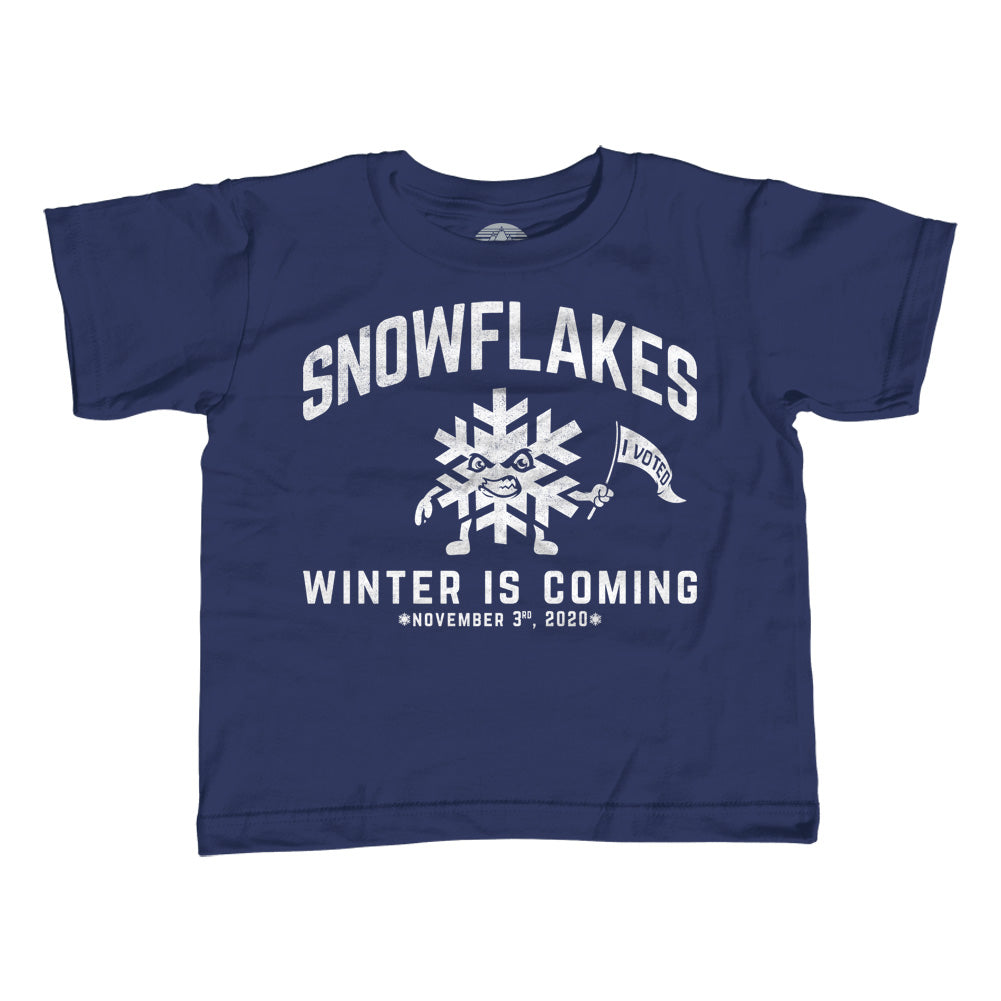 Girl S Winter Is Coming Snowflake T Shirt Unisex Fit Liberal