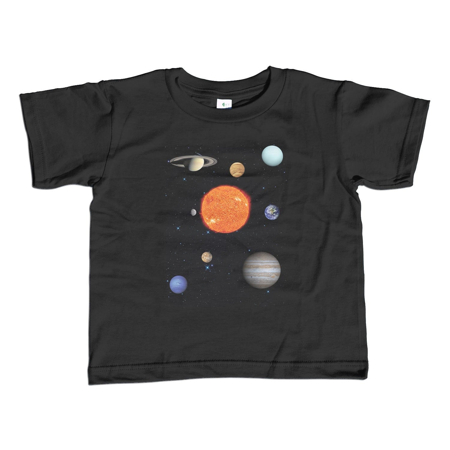 Girl's Solar System T-Shirt - Unisex Fit Astronomy