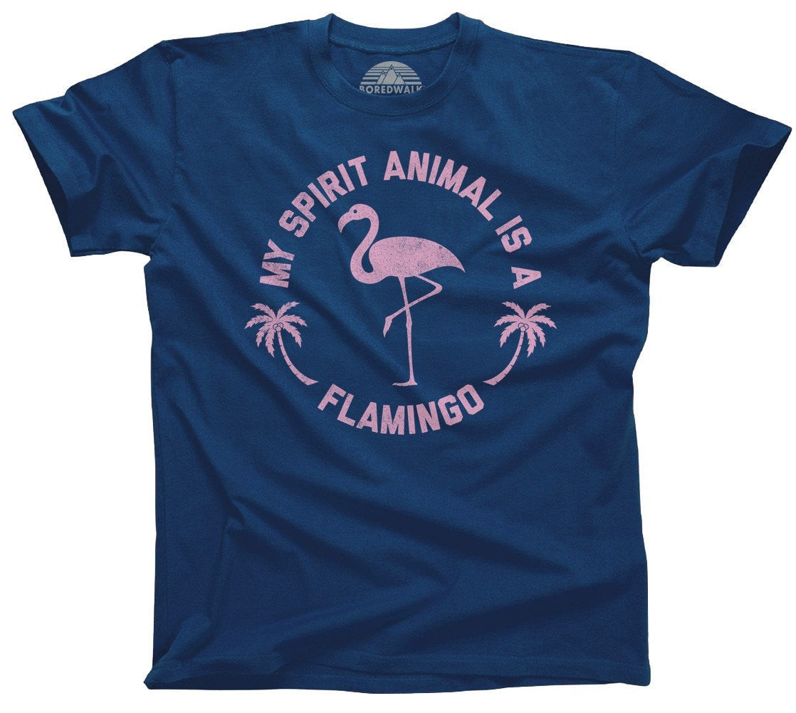Men's My Spirit Animal is a Flamingo T-Shirt