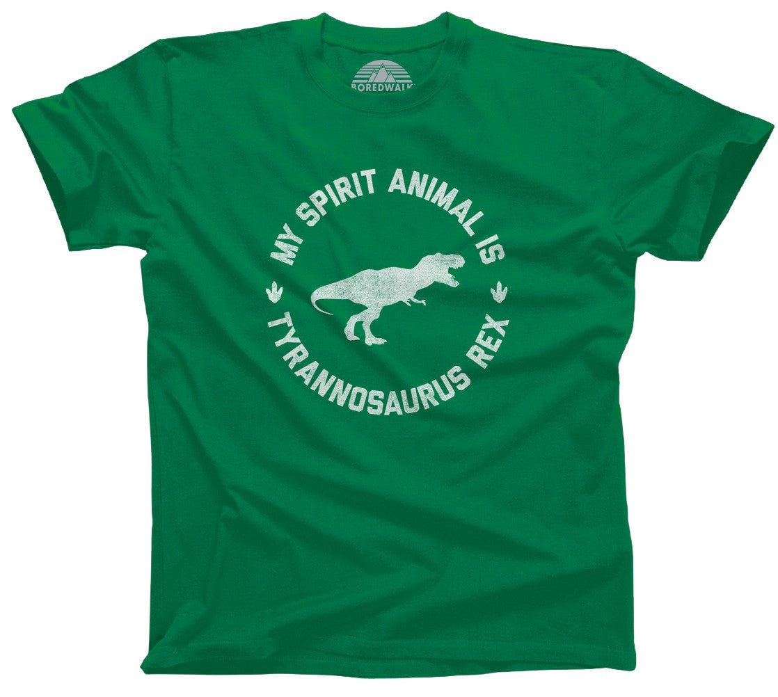Men's My Spirit Animal is T-Rex T-Shirt