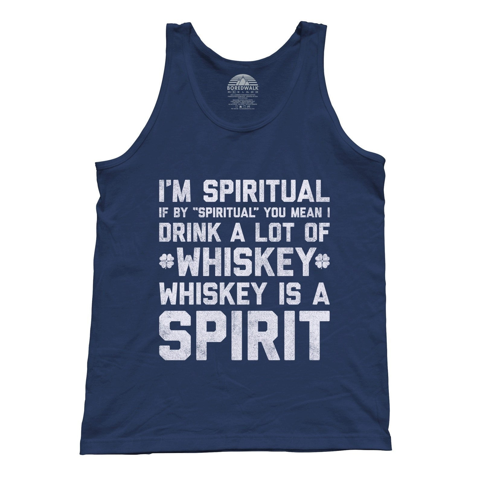 Unisex I'm Spiritual I Drink Whiskey Tank Top