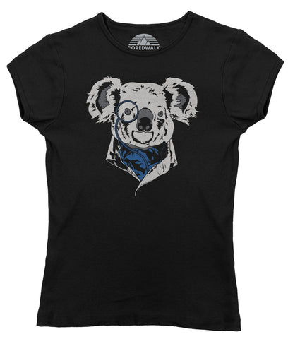 Women's Steampunk Koala T-Shirt