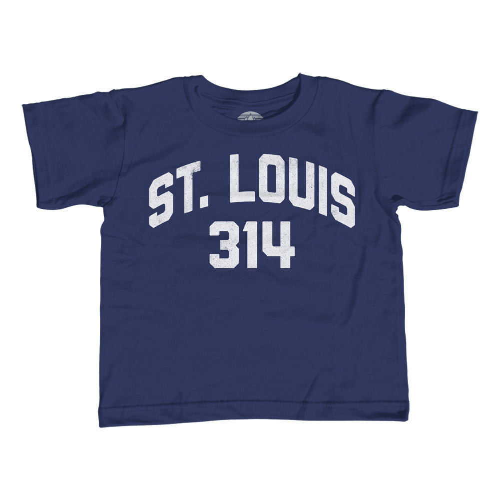 Boy's St Louis 314 Area Code T-Shirt