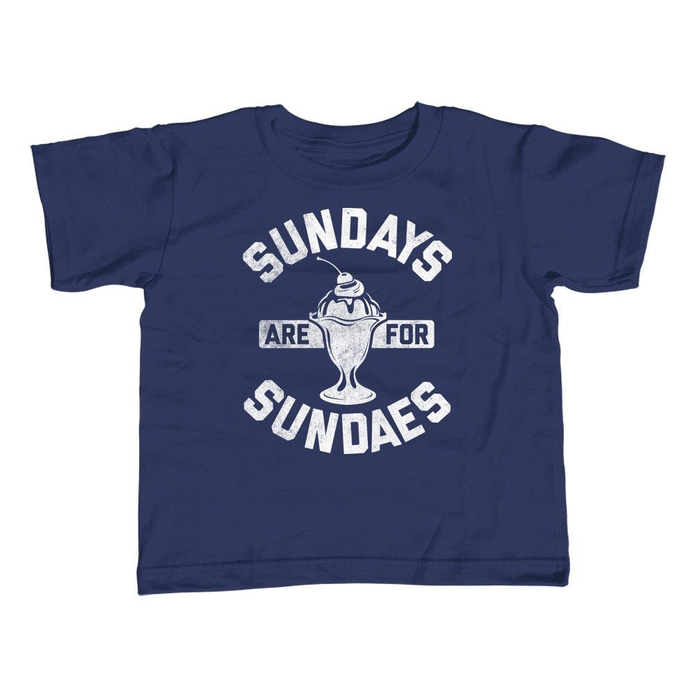 Girl's Sundays are for Sundaes T-Shirt - Unisex Fit - Cool Hipster Foodie Ice Cream Fashion