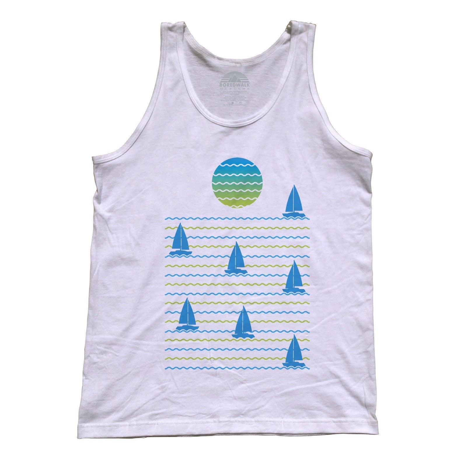 Unisex Set Sail for Sunset Tank Top