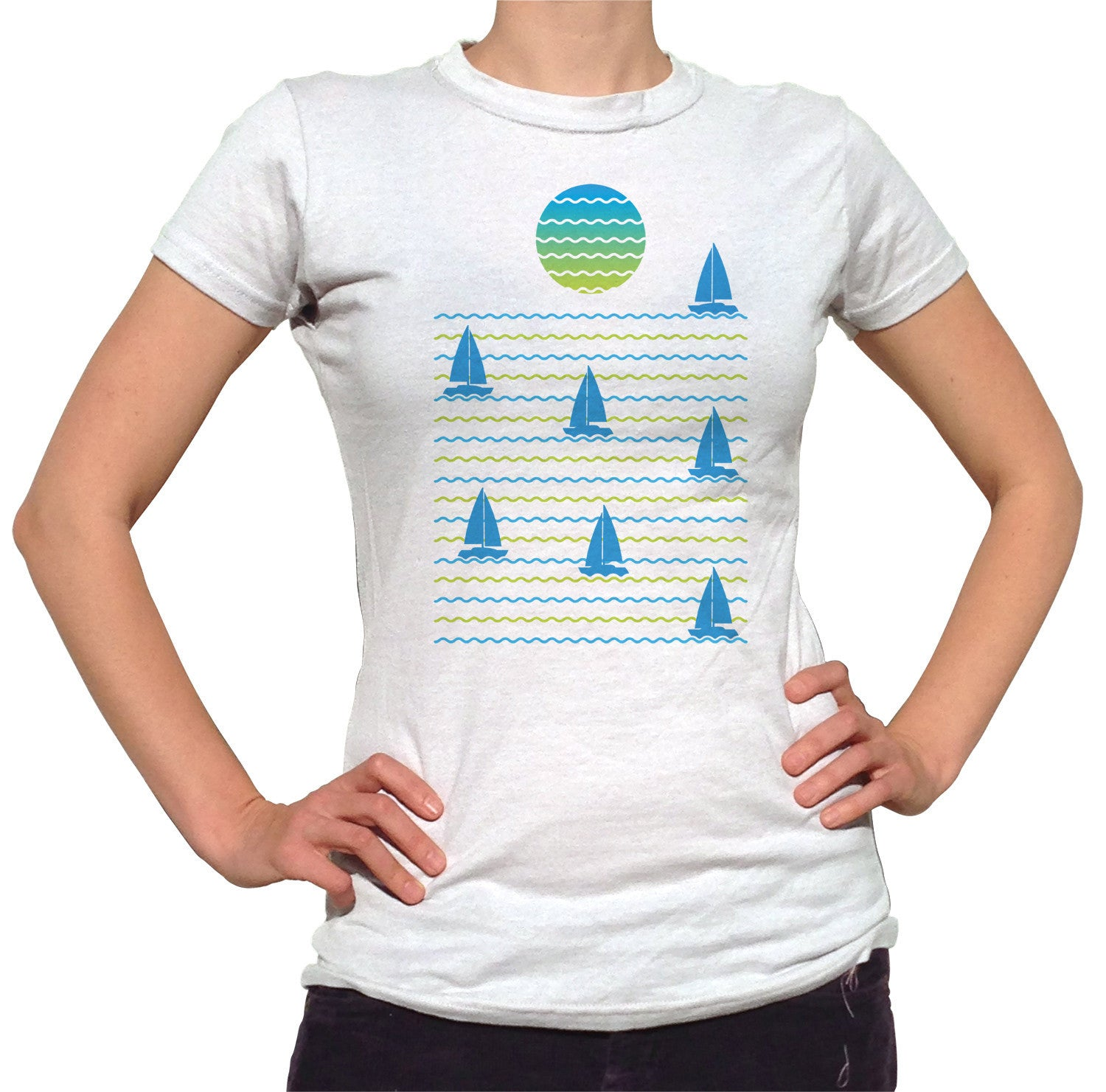 Women's Set Sail for Sunset T-Shirt