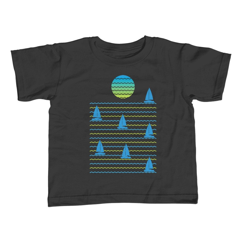 Boy's Set Sail for Sunset T-Shirt