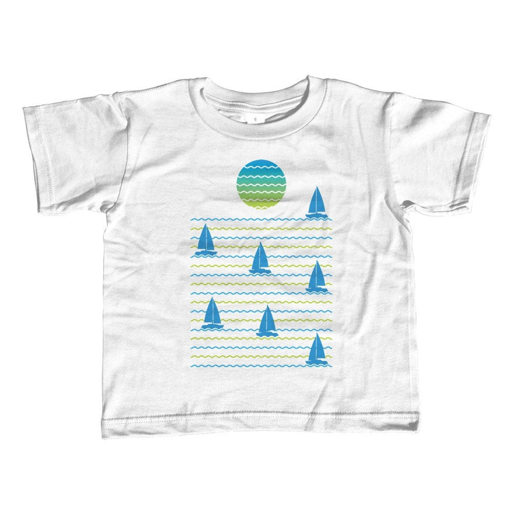 Girl's Set Sail for Sunset T-Shirt - Unisex Fit