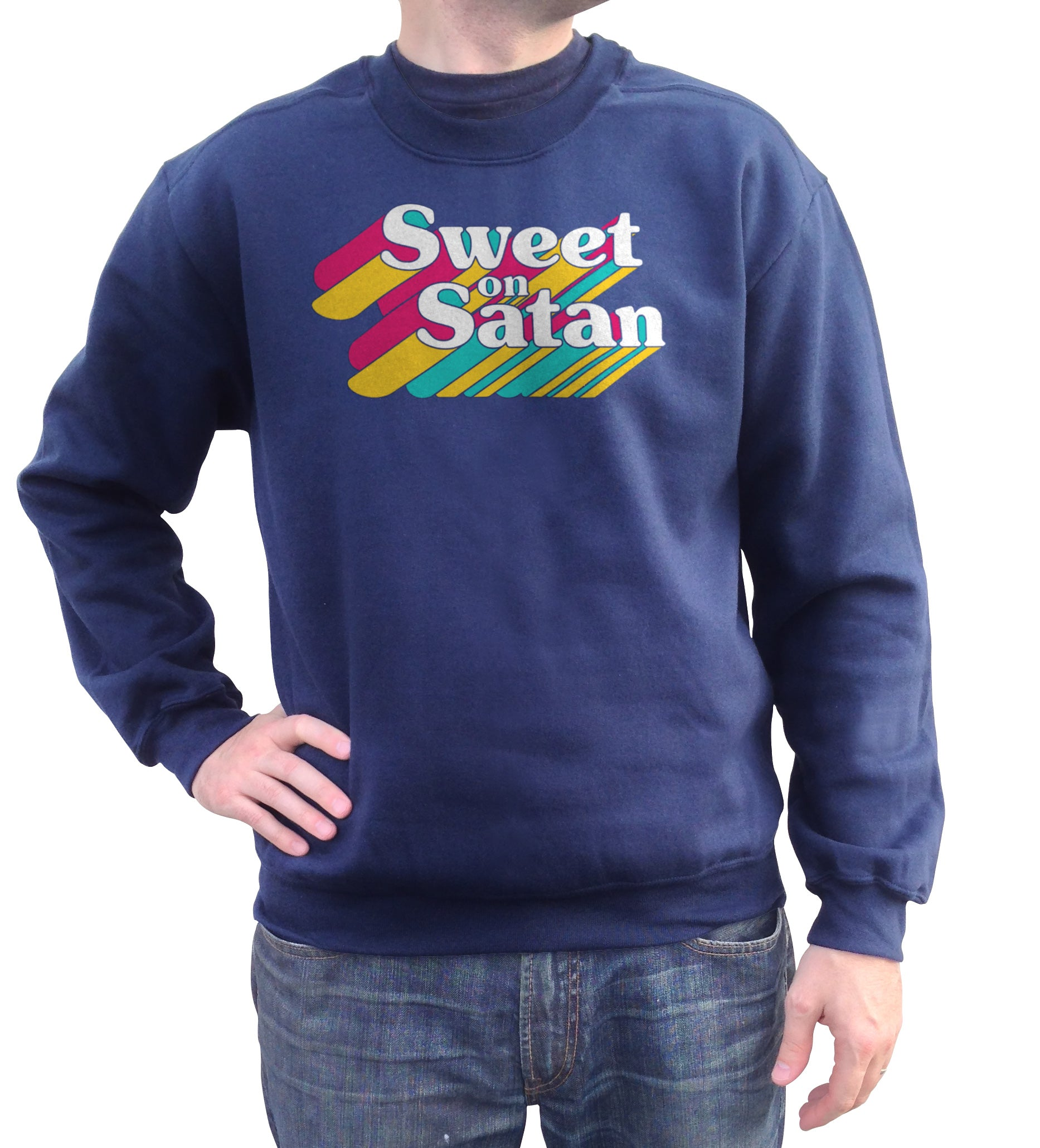 Unisex Sweet on Satan Sweatshirt