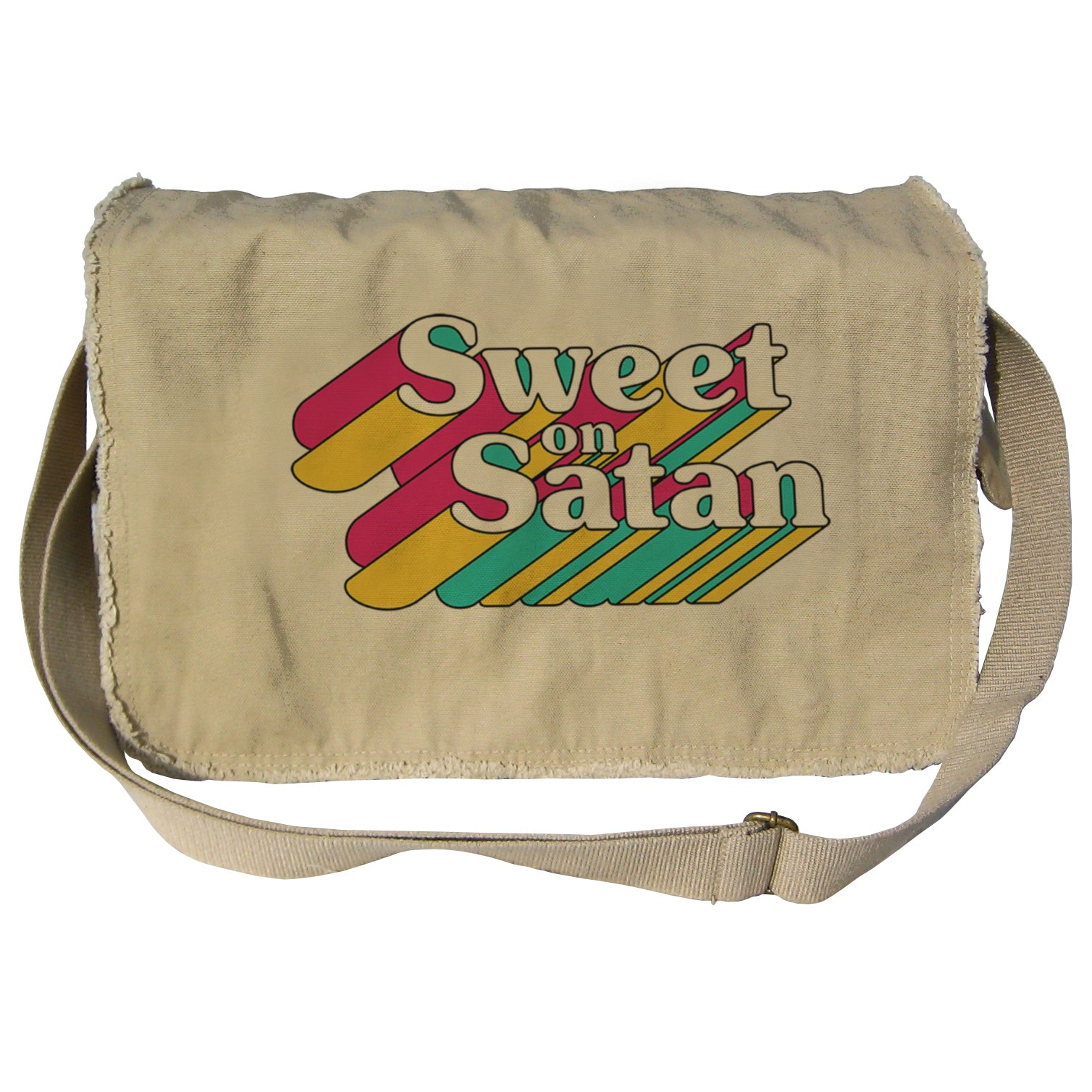 Sweet on Satan Messenger Bag