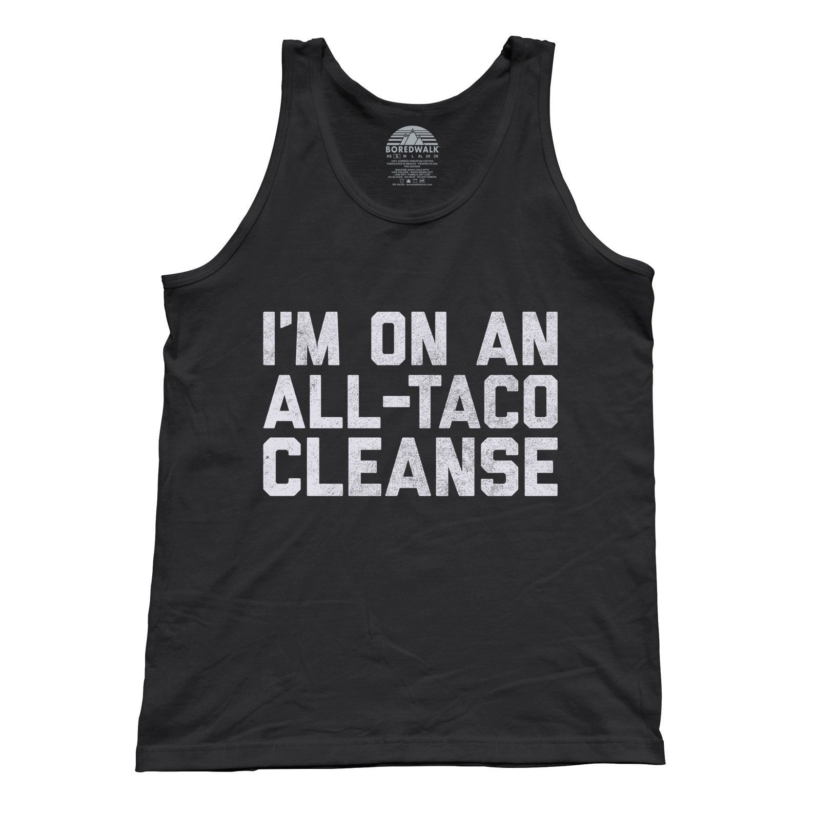 Unisex I'm On An All Taco Cleanse Tank Top