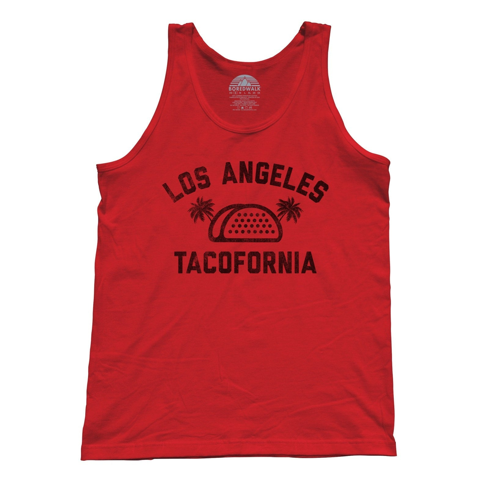 Unisex Los Angeles Tacofornia Tank Top