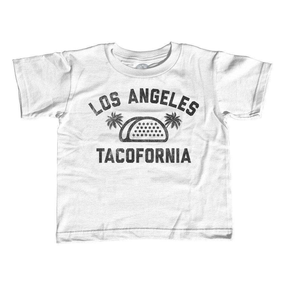 Girl's Los Angeles Tacofornia T-Shirt - Unisex Fit