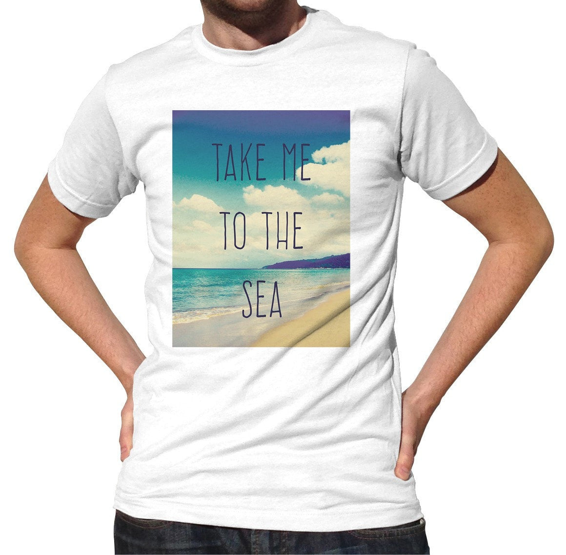 Men's Take me to the Sea T-Shirt Beach Ocean