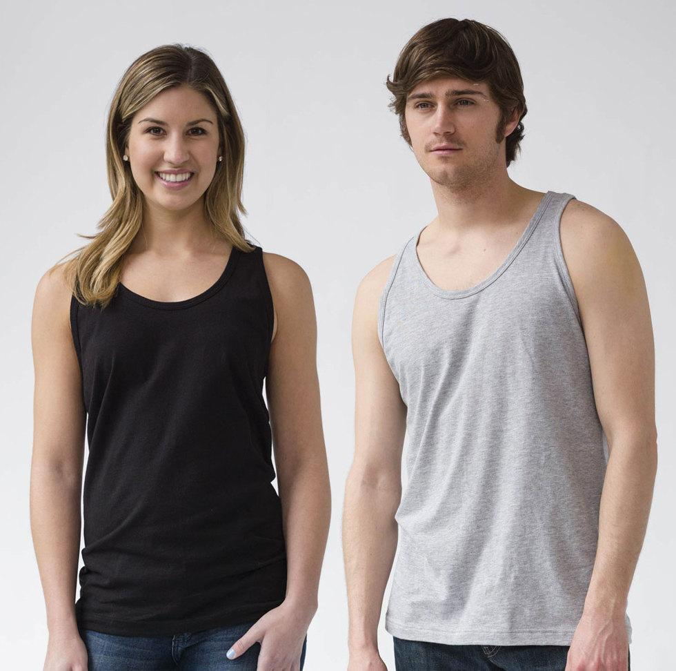 Unisex Vegetable Nerd Tank Top