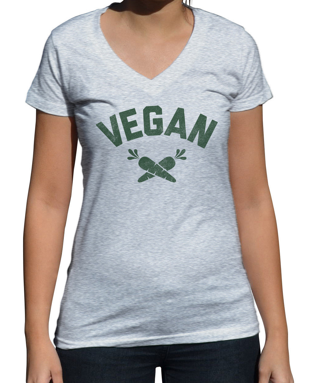 Women's Team Vegan Vneck T-Shirt