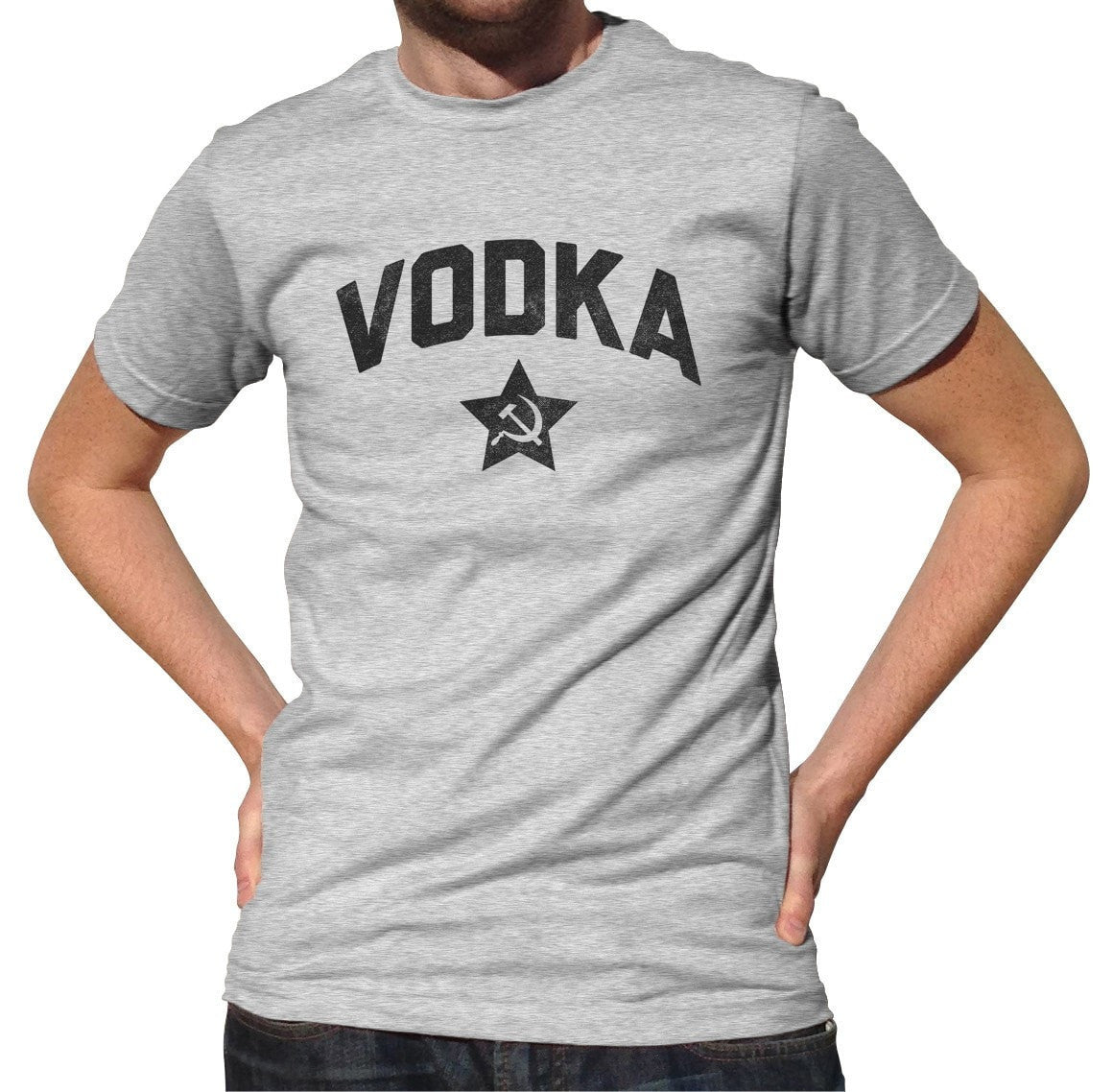 Men's Team Vodka T-Shirt Cool Funny Drinking