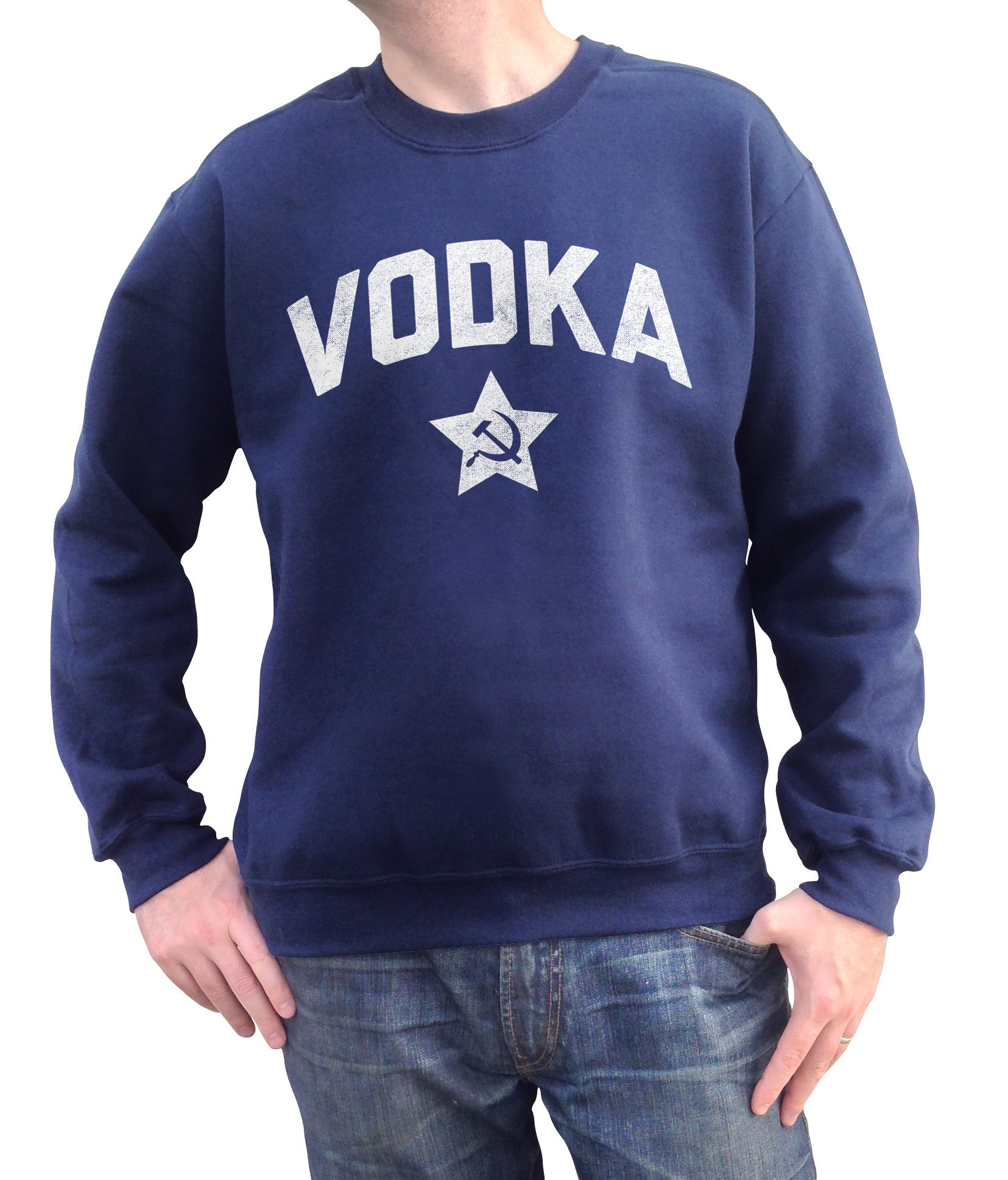 Unisex Team Vodka Sweatshirt Cool Funny Drinking