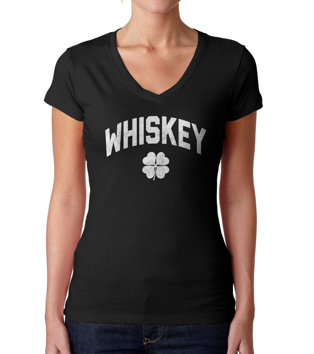 Women's Team Whiskey Vneck T-Shirt