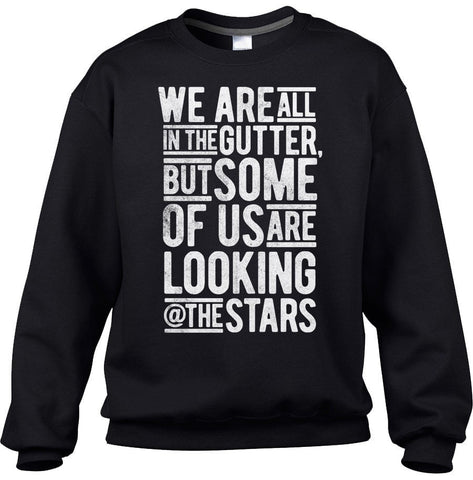 Unisex Looking At the Stars Oscar Wilde Sweatshirt