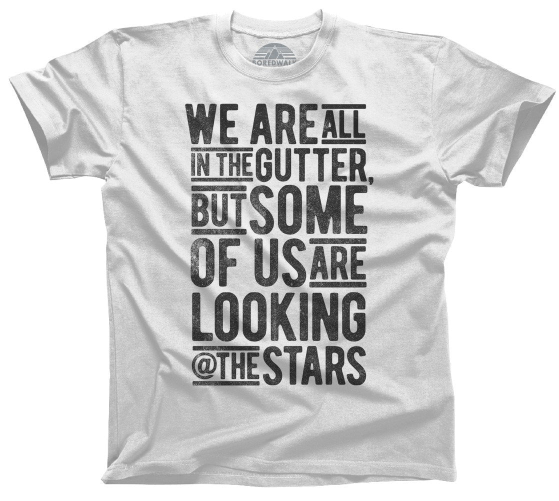 Men's Looking At The Stars Oscar Wilde T-Shirt